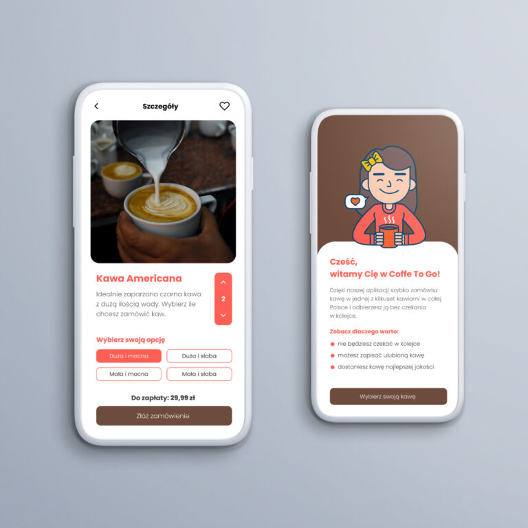 Coffee togo mobile app
