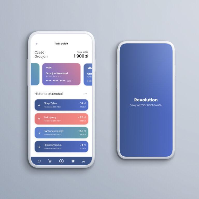 Bank mobile app